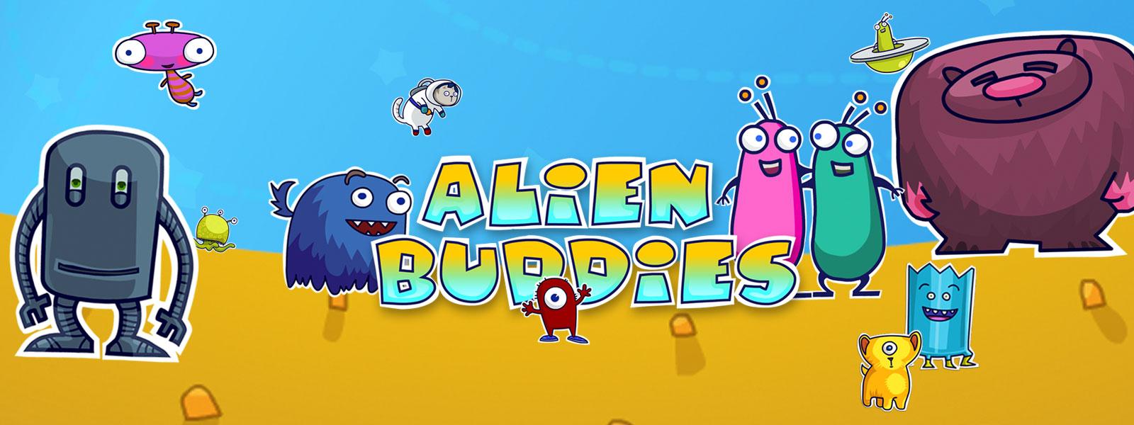 Alien Buddies Banner