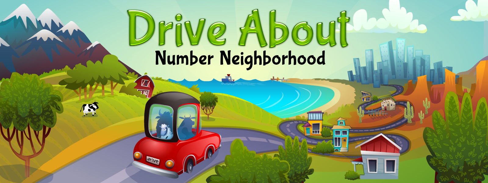 Drive About: Number Neighborhood