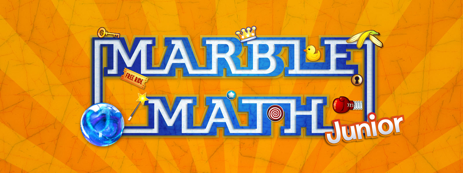 Marble Math Junior Banner