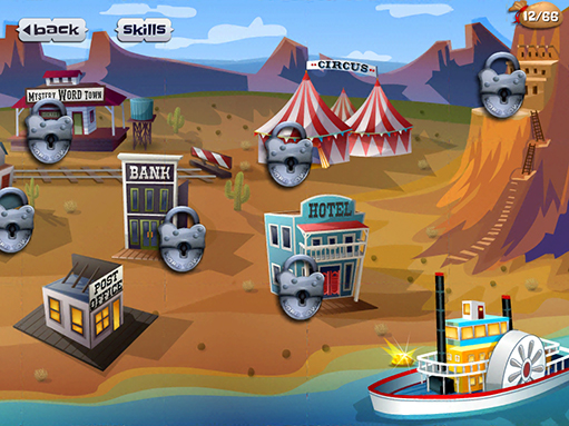 Mystery Word Town | Artgig Apps