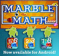 Marble Math Available for Android