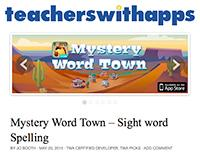 Teachers With Apps Mystery Word Town Review